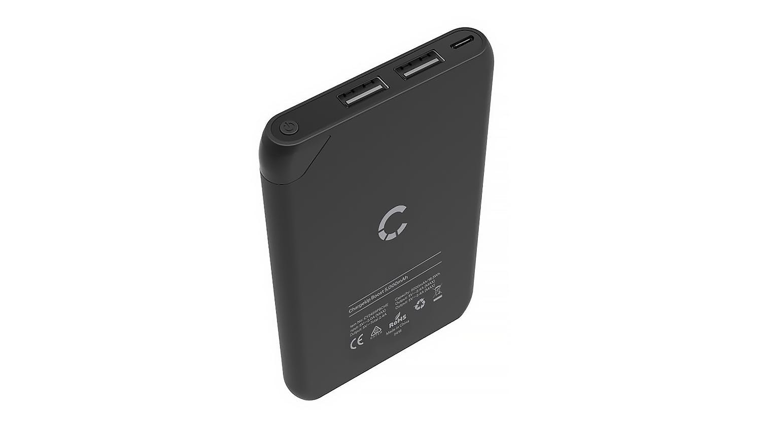 Cygnett Chargeup Boost 5000mAh Power Bank - Black
