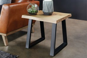 Kubu Lamp Table by Synargy