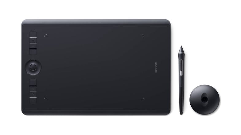 Wacom Intuos Pro Creative Pen Bluetooth Black Tablet - Medium