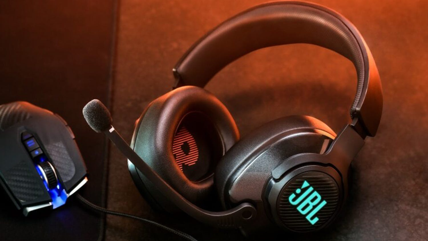 JBL Quantum 400 Over-Ear Gaming Headset - Black