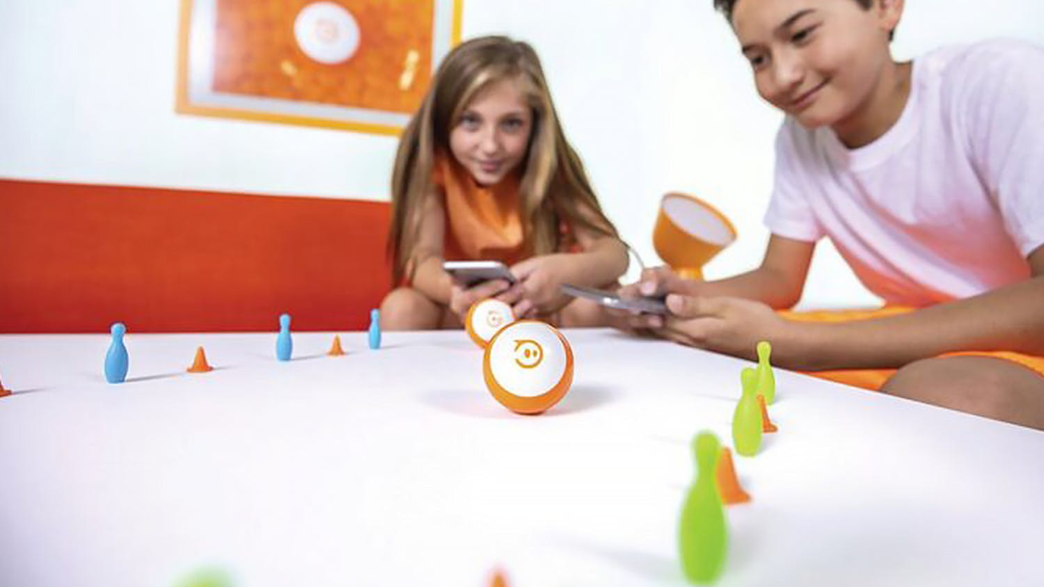 Sphero Mini App-Enabled Robotic Ball - Orange