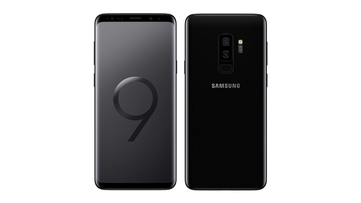 2degrees Samsung Galaxy S9+ Midnight Black Smartphone - 256GB