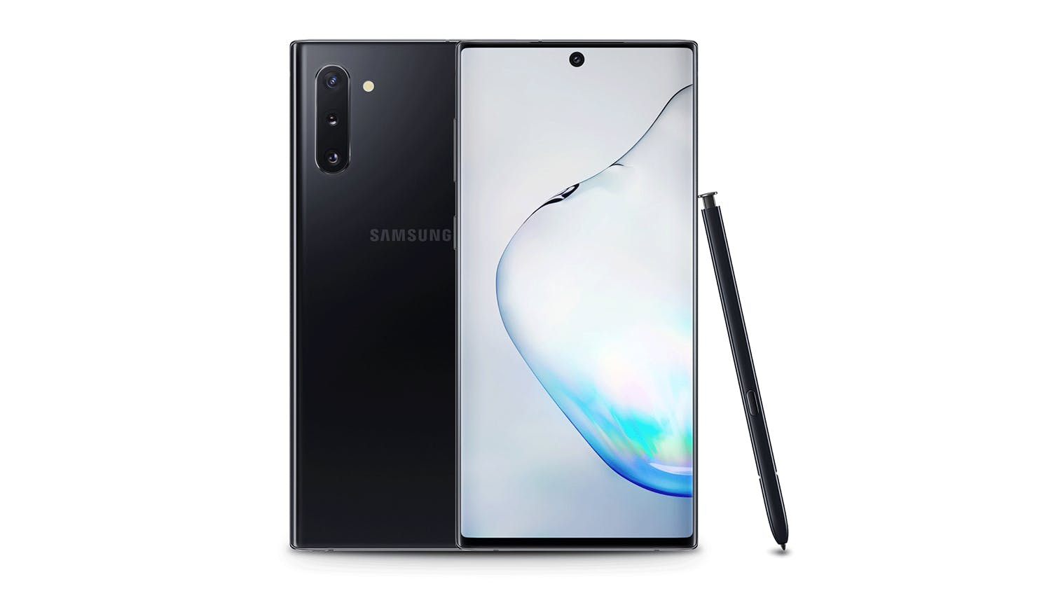2degrees Samsung Galaxy Note10 Aura Black - 256GB