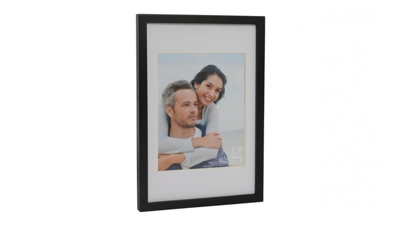 UR1 Gallery 10x15 Photo Frame with 8x10 Opening - Black
