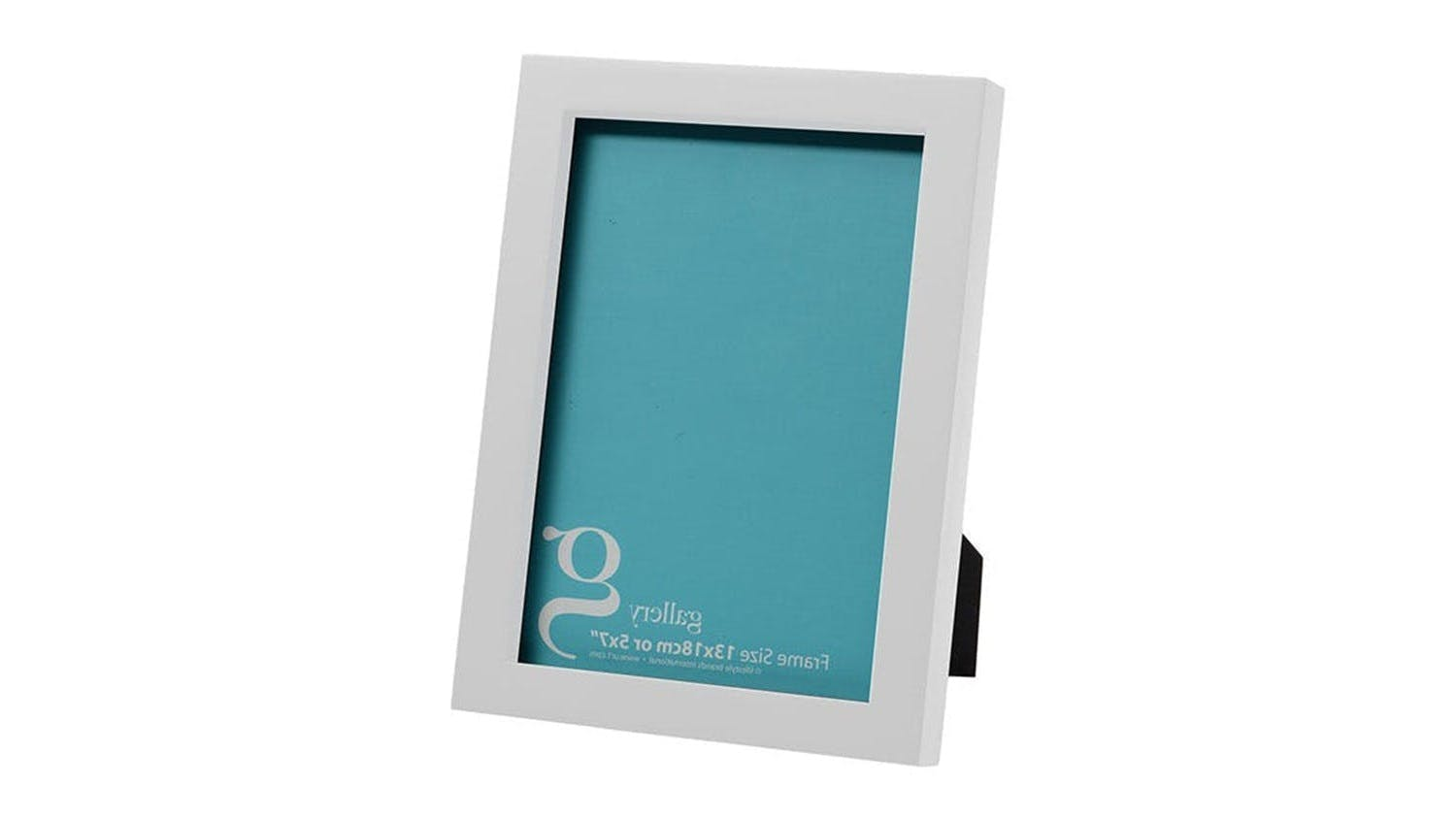 UR1 Gallery 5x7 Photo Frame - White