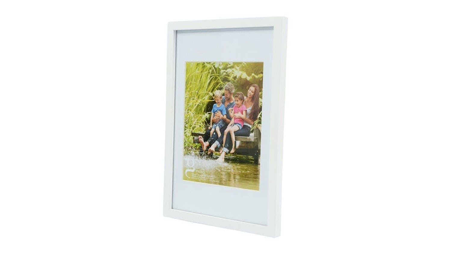 UR1 Gallery 10x15 Photo Frame with 8x10 Opening - White