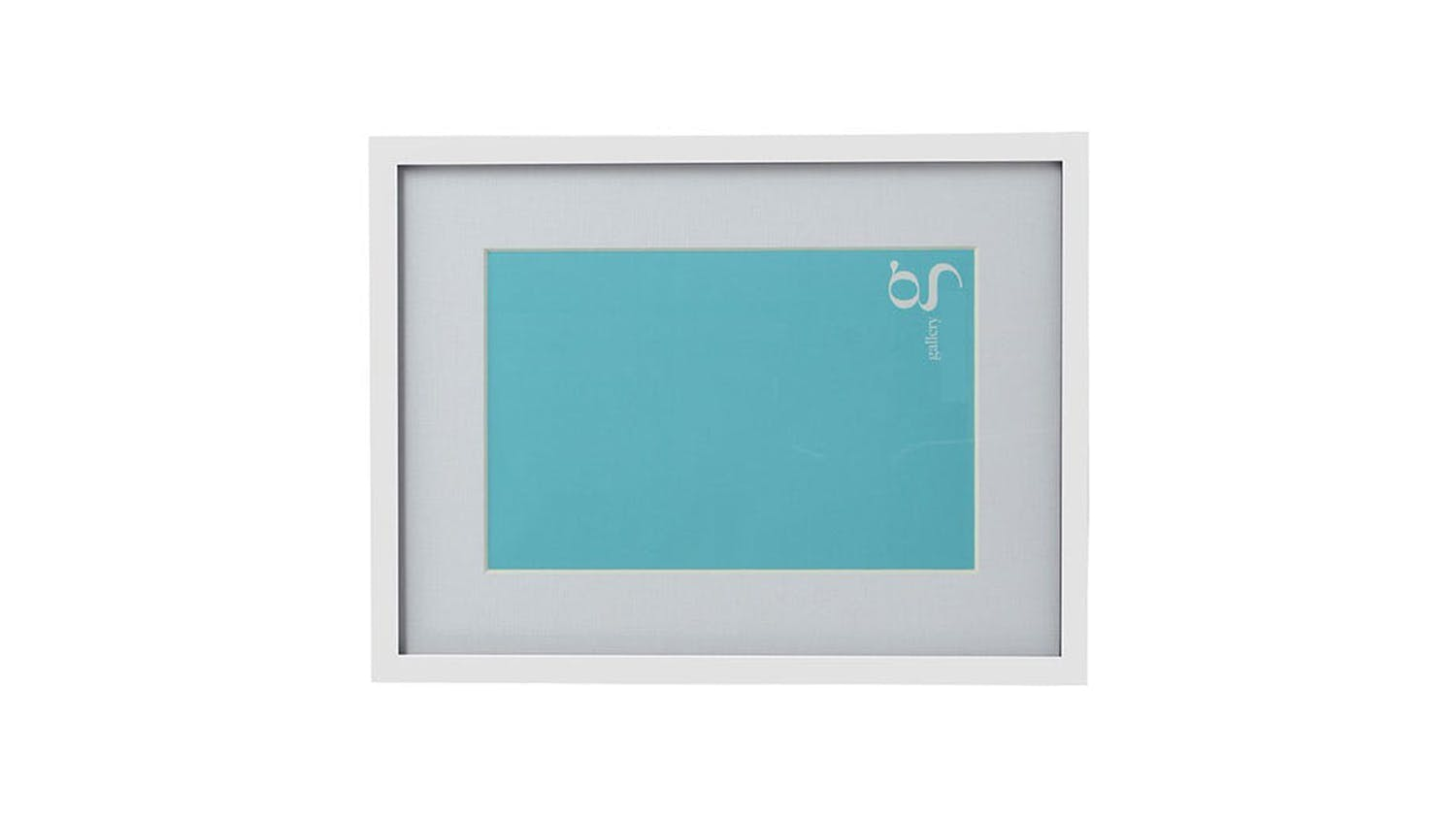 UR1 Gallery 11x14 Photo Frame with A4 Opening - White