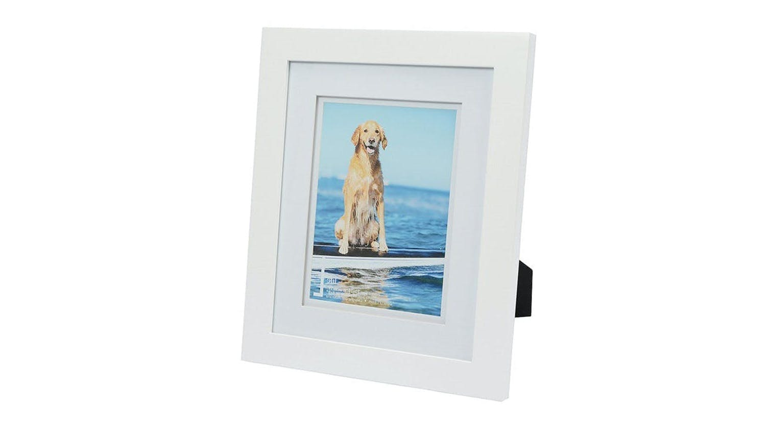 UR1 Life 9x11 with 6x8 Opening Photo Frame - White