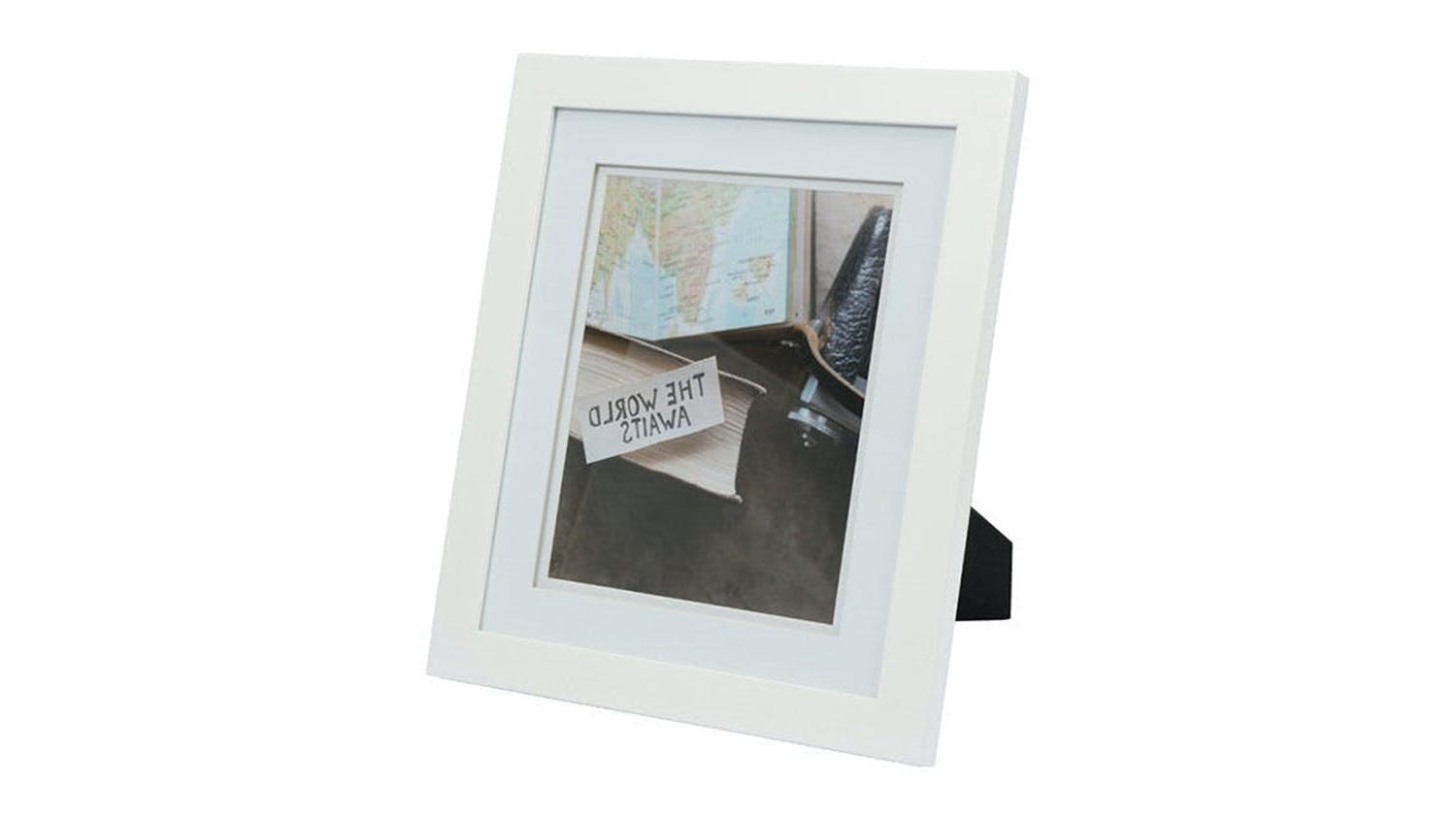 UR1 Life 11x13 Photo Frame with 8x10 Opening - White