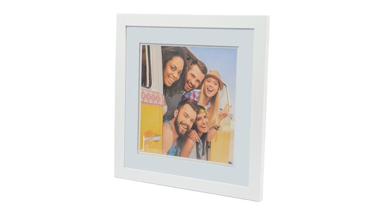 UR1 Life 16x16 Photo Frame with 12x12 Opening - White
