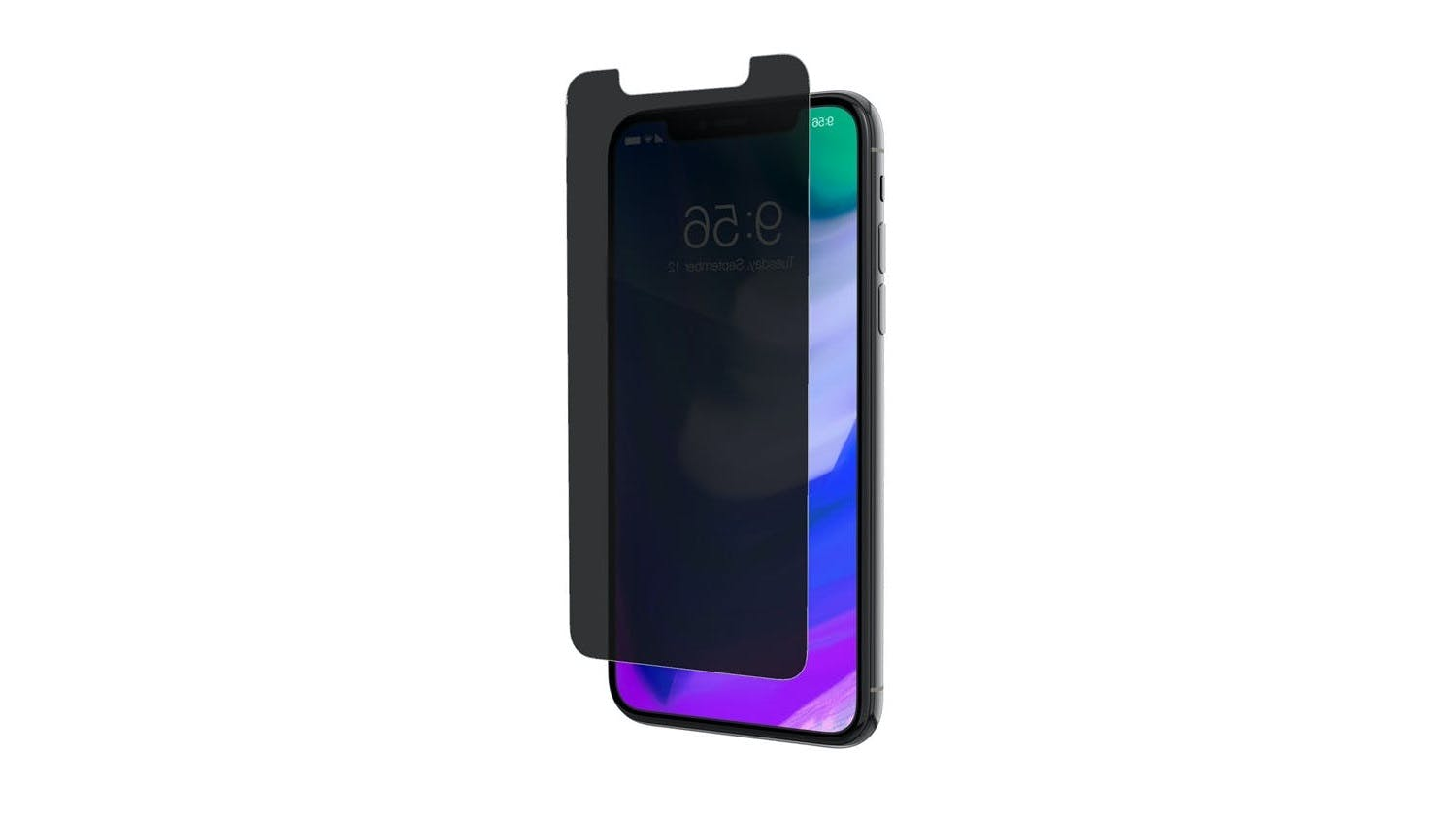 Zagg InvisibleShield Glass+ Privacy Screen Protector for iPhone X