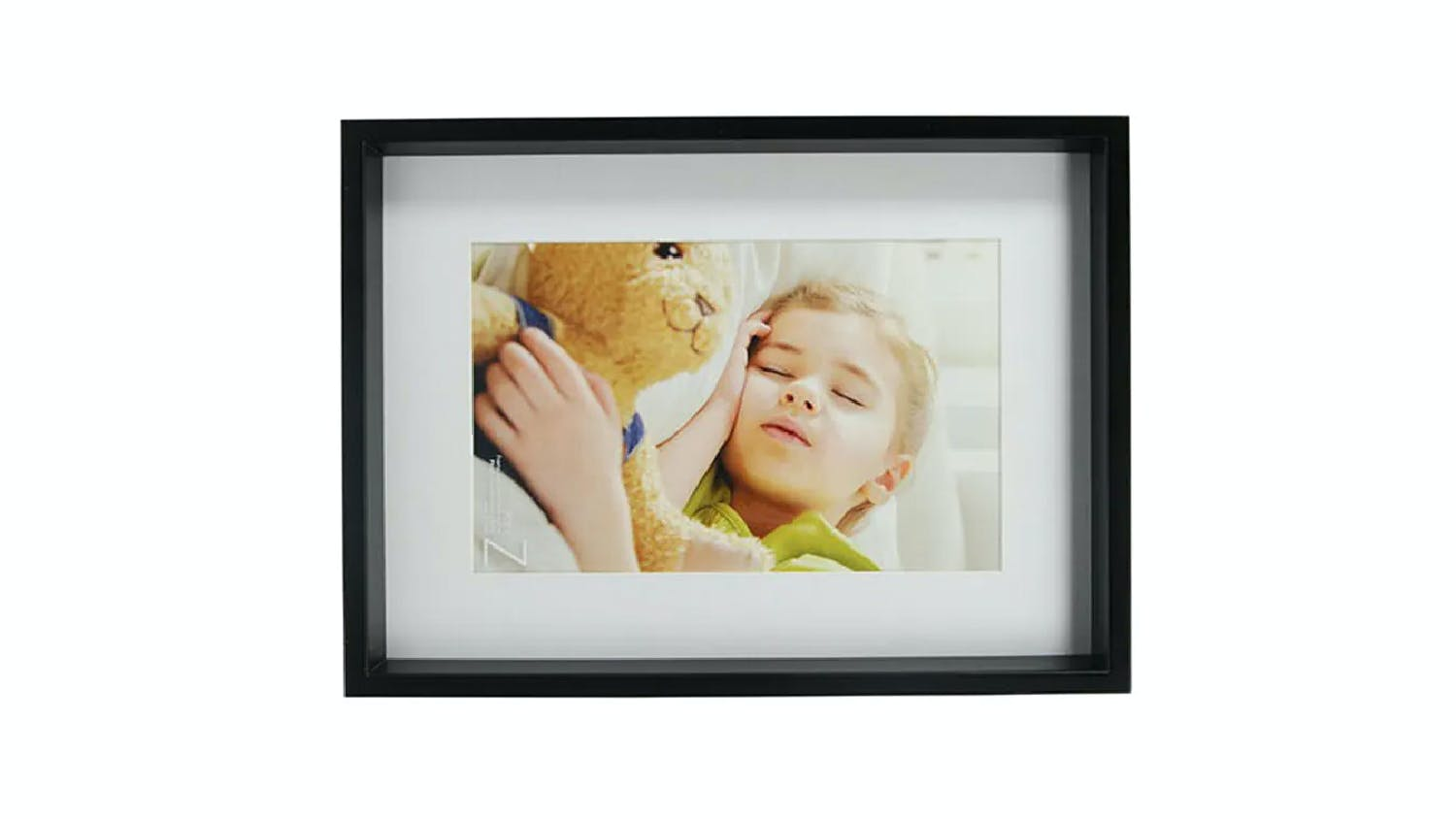 UR1 Zoey No Matt Chunky 12X16 Photo Frame with 8X12 Opening - Black