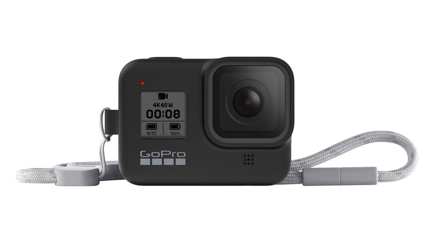 GoPro Sleeve + Lanyard for Hero8 - Blackout