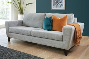 Stratus 3 Seater Fabric Sofa by Evan John Philip