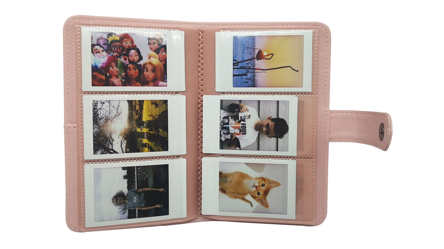 Instax Mini 11 Album - Pink Stripe