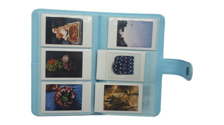 Instax Mini 11 Album - Blue Stripe