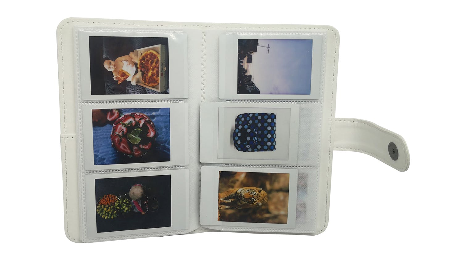 Instax Mini 11 Album - White Stripe