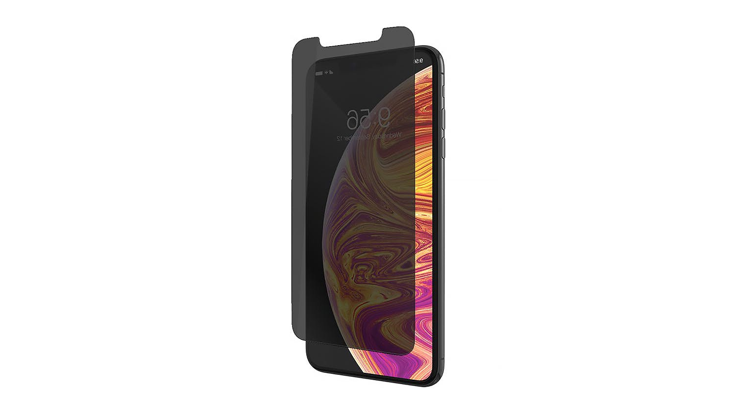 Zagg Invisibleshield Glass+ Privacy Screen Protector for iPhone XS Max