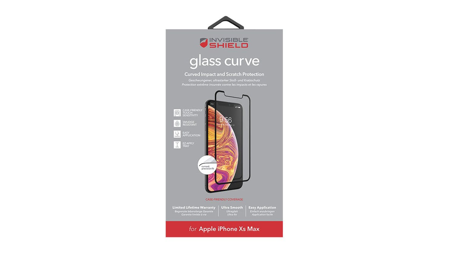Zagg Invisibleshield Glass Curve for iPhone XS Max