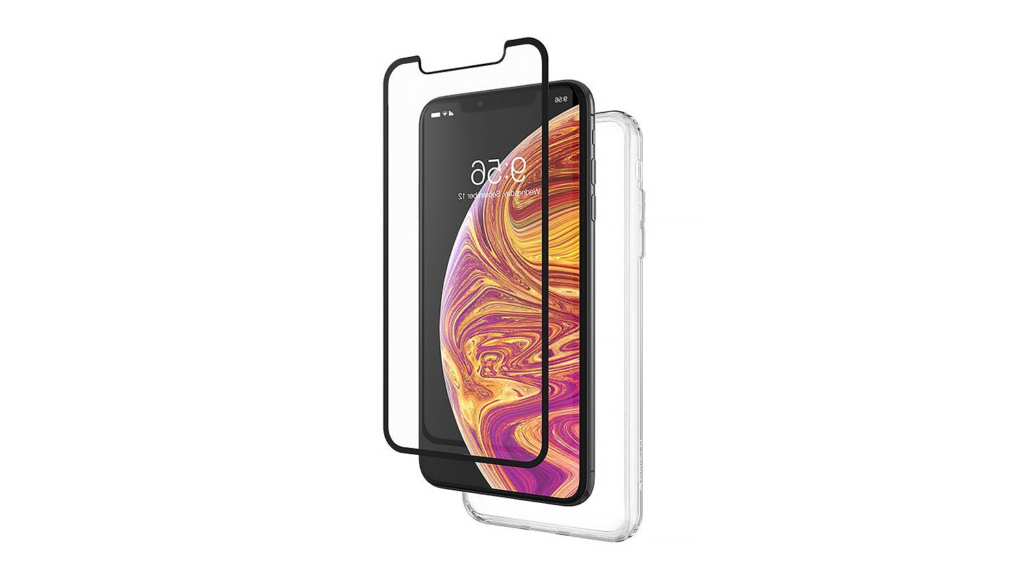 Zagg InvisibleShield Glass+ 360 Screen Protector for iPhone XS Max