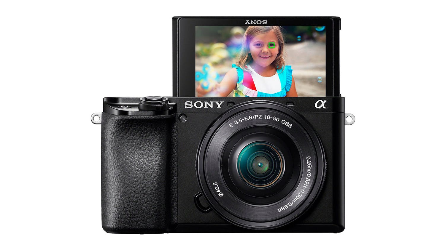 Sony Alpha A6100 Mirrorless Camera with 16-50mm Lens