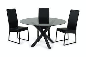 Jana Round Dining Table by Debonaire Furniture