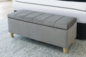 Oasis Bedroom Blanket Box by Nero Furniture