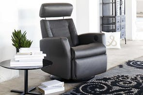 Lotus Wall Saver Electric Recliner Trend Leather by IMG