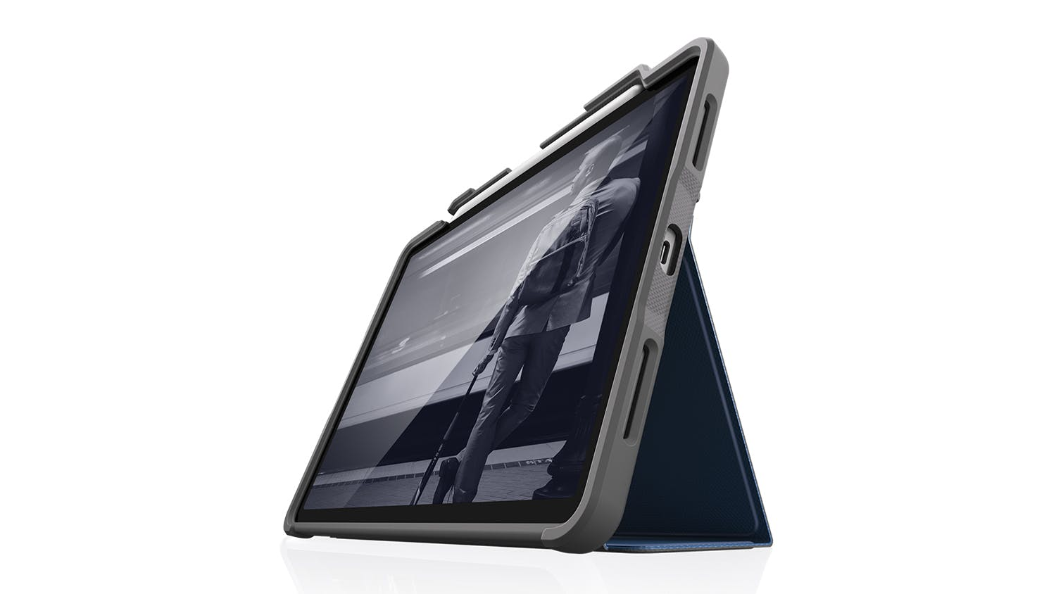 "STM Rugged Case+ for iPad Pro 11"" (2020) - Midnight Blue"