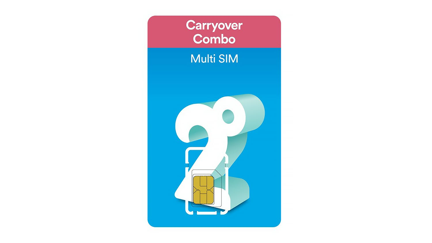 2degrees Carryover Combo Prepay SIM