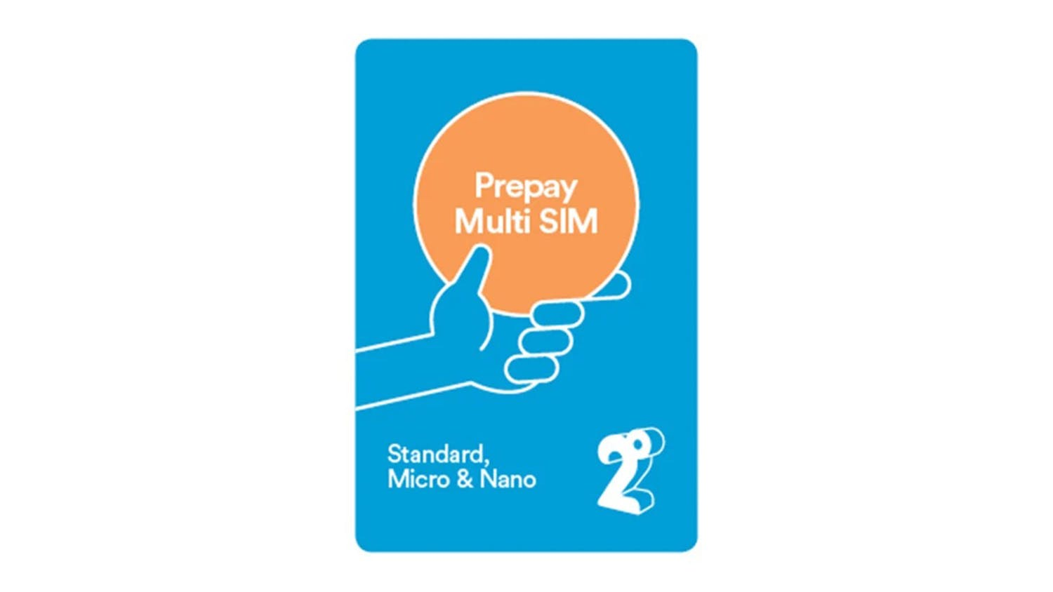 2degrees $55 Monthly Prepay Plan SIM