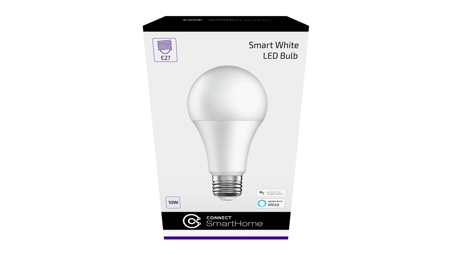 Connect Smart 10W E27 White LED Light Bulb - Screw