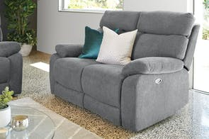 Genesis 2 Seater Fabric Electric Fabric Sofa