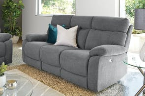 Genesis 3 Seater Fabric Sofa