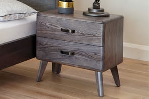 Melba Bedside Table by Woodpecker Furniture