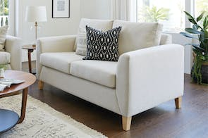 Nusa 2 Seater Fabric Sofa by Furniture Haven
