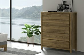 Reva 5 Drawer Tallboy by Coastwood Furniture