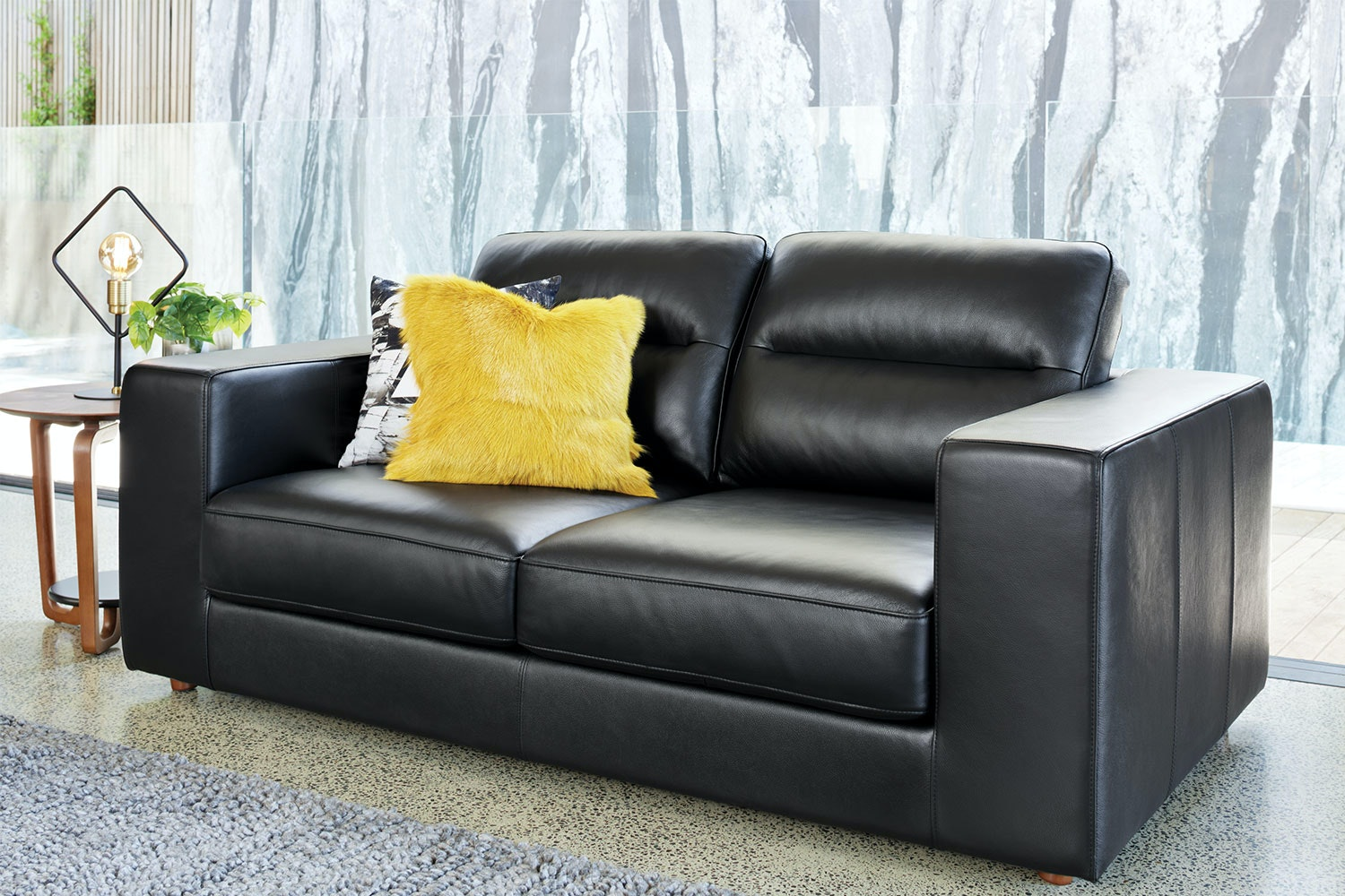 Picture of: Romano 2 Seater Leather Sofa Harvey Norman New Zealand