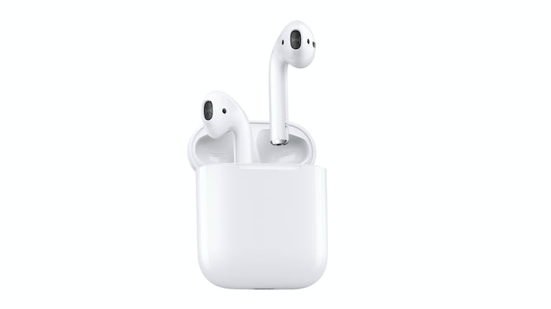 Apple AirPods with Wireless Charging Case (open)