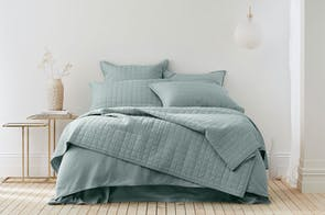 Reilly Sea Mist Duvet Cover Set by Sheridan