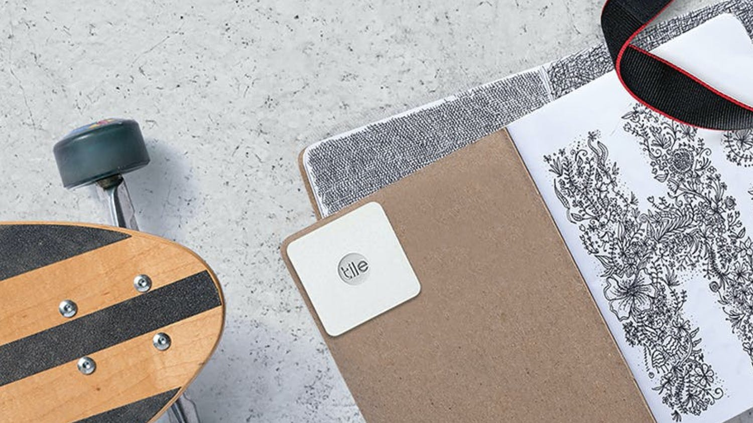 Tile Slim Bluetooth Tracker - Single Pack