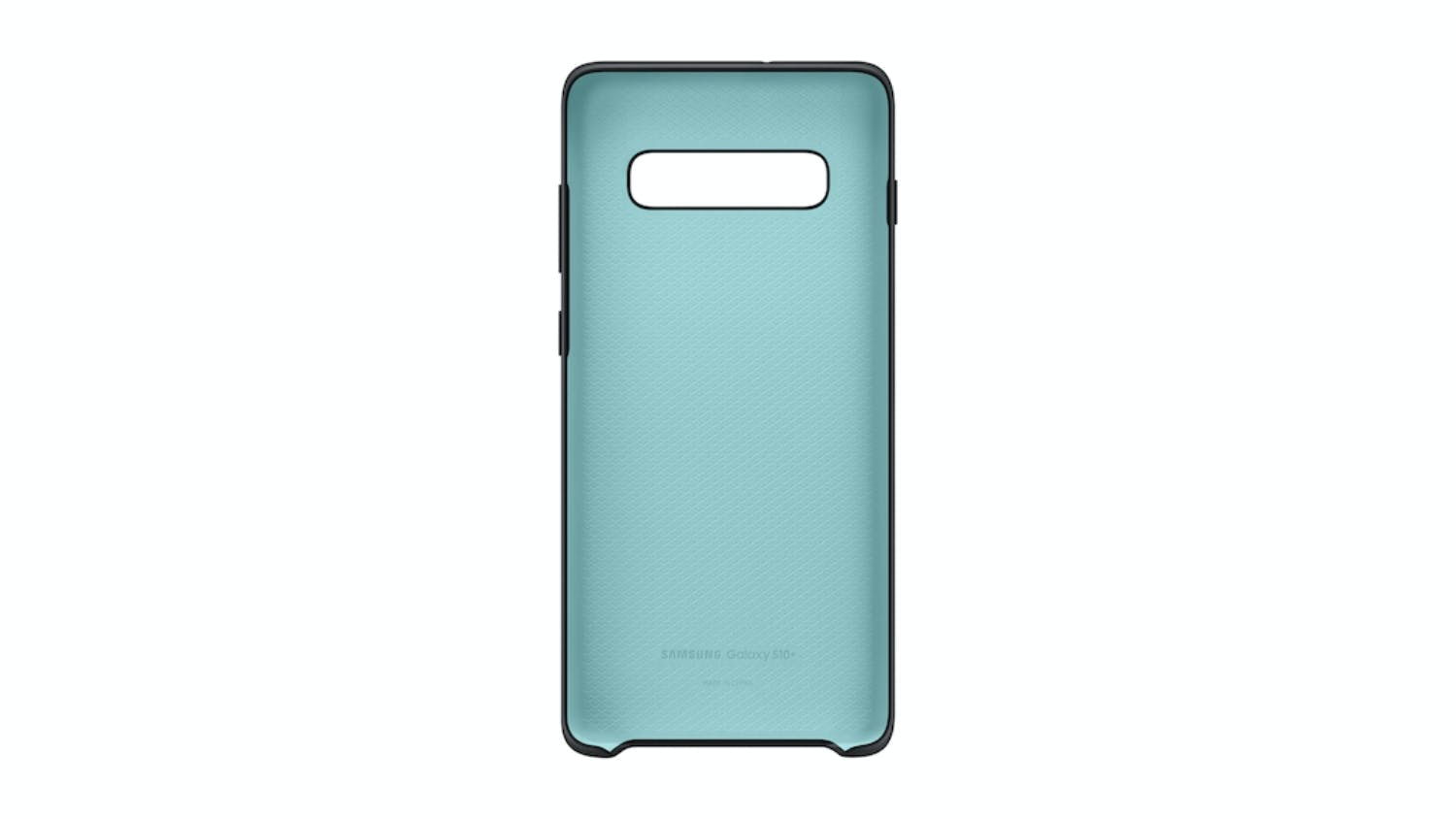 Samsung Galaxy S10 Silicone Cover - Black