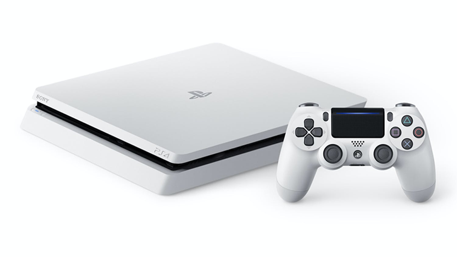 PlayStation 4 Slim 500GB Console - White