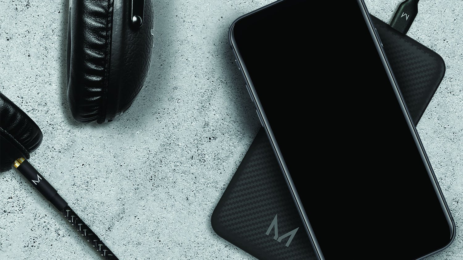 Moyork Watt 8000mAh Wireless Power Bank - Raven Black