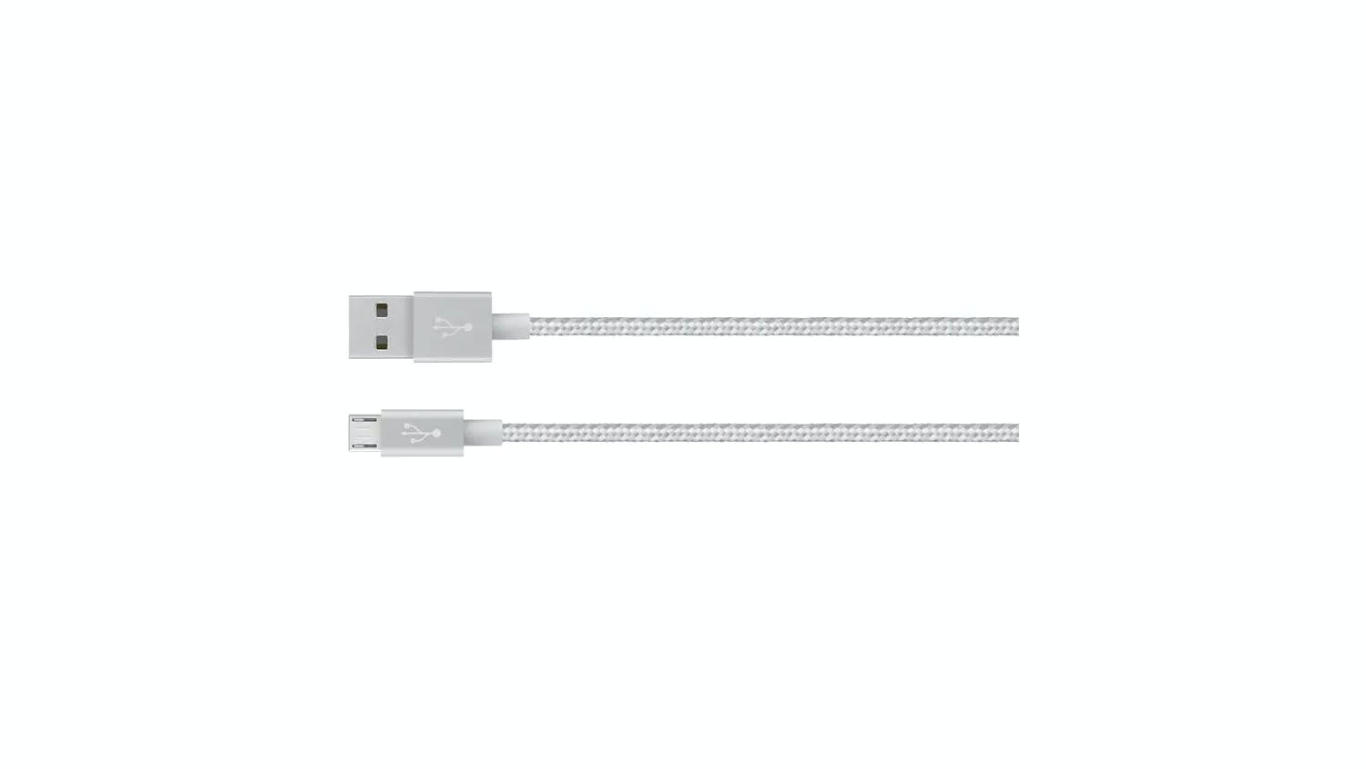 Belkin MIXIT Metallic Micro-USB to USB Cable 1.2m - Silver