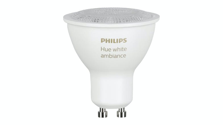 Philips Hue White Ambiance 5.5W GU10 Single Bulb