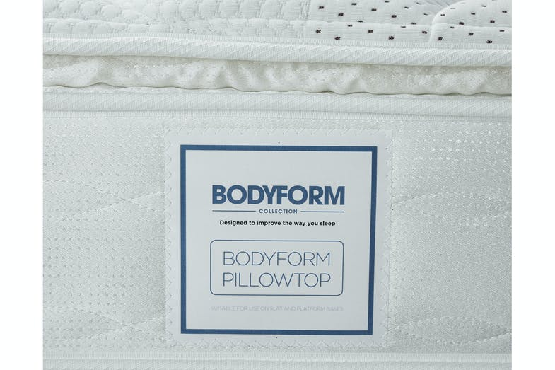 Bodyform Pillowtop Super King Bed by Sealy