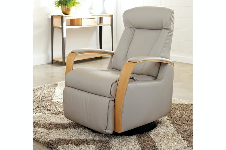 Prince Laminate Arm Recliner Chair - Trend Leather