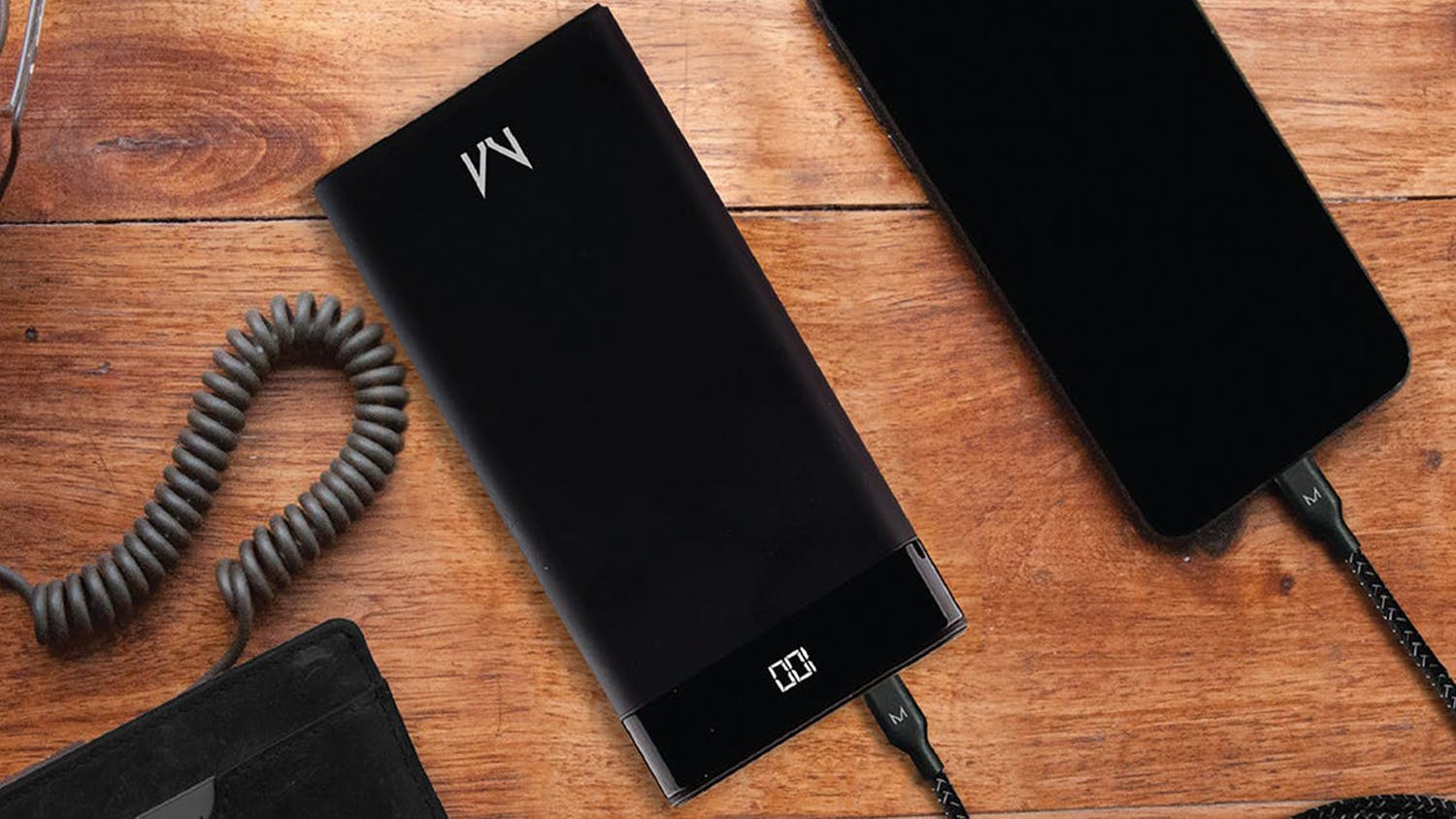 Moyork Watt 8000mAh Power Bank - Raven Black