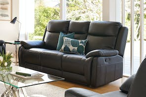 Marco 3 Seater Leather Recliner Sofa